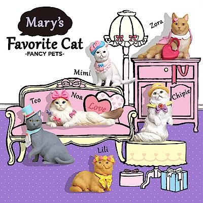 Mary's favorite Cat 時尚寵物貓咪(箱購12入)