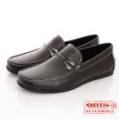 ORIS 【男】 經典時尚簡約紳士休閒鞋 皮鞋~ 黑SA17214N01