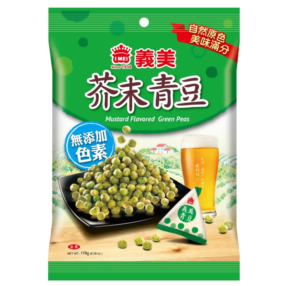 義美 芥末青豆(178g)