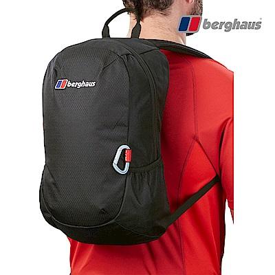 【Berghaus貝豪斯】透氣多功能15L背包T28X90-黑