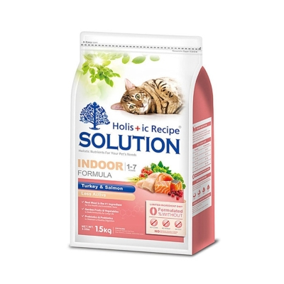 SOLUTION 耐吉斯 成貓 居家/纖體配方 火雞肉+鮭魚 7.5kg X 2包