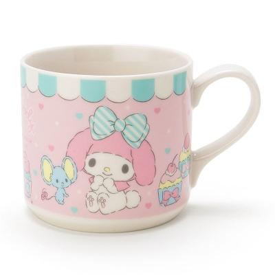 Sanrio 美樂蒂陶磁馬克杯(杯子蛋糕)