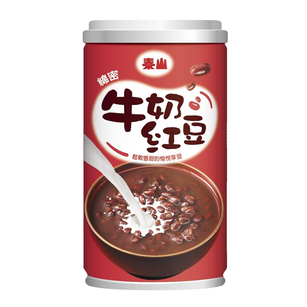 泰山 綿密牛奶紅豆(330gx6入)