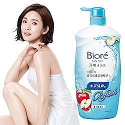 蜜妮 Biore 淨嫩沐浴乳 水采清爽型 富士蘋果香(1000ml)