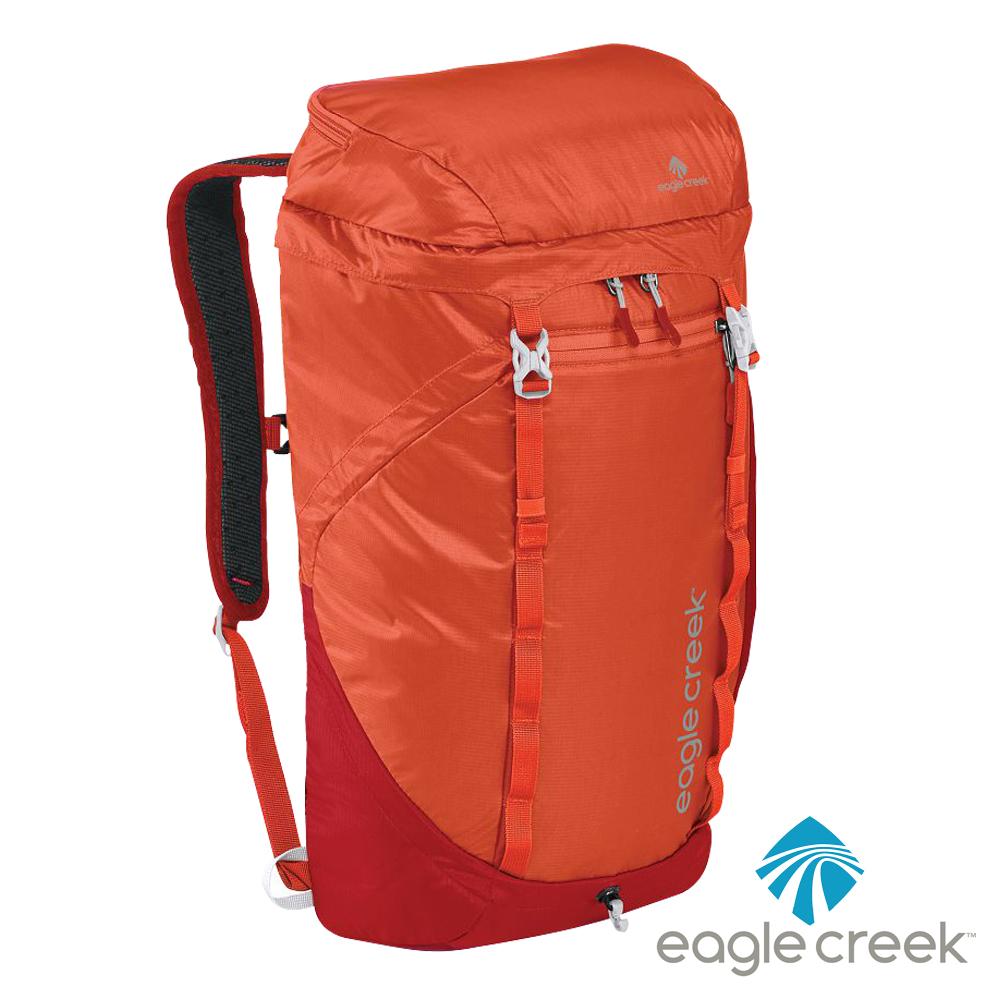 美國Eagle Creek RFID超輕量防撕裂雙肩後背包25L(烈焰橙)