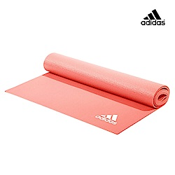 Adidas Yoga 專業訓練瑜珈墊-4mm(紅色)