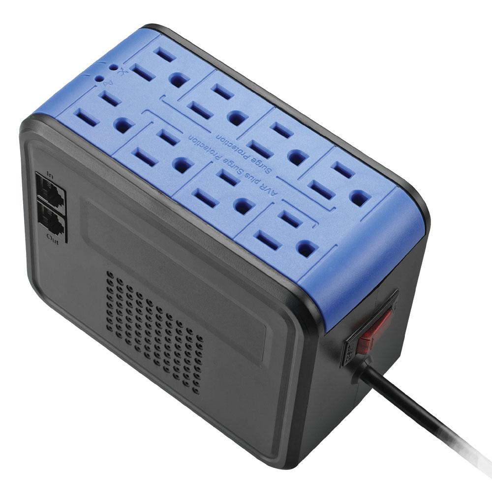 愛迪歐-全方位電子式 PSC-1000 穩壓器(1KVA)  靚酷藍