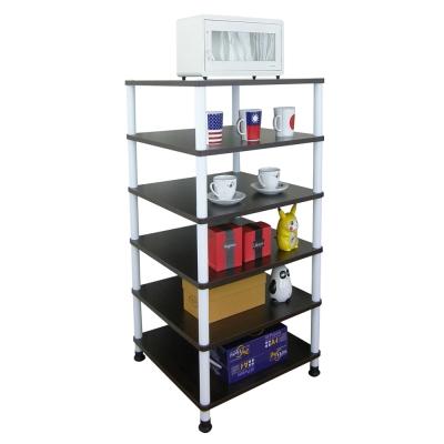 Dr. DIY 寬40公分-六層置物架/電器架(三色可選)