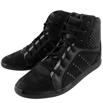 Y-3山本耀司 黑色三線造型中筒造型靴-女款US 8.5號