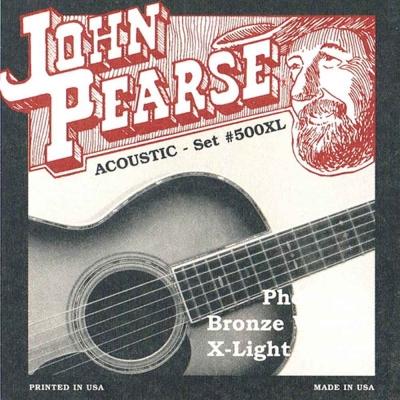 JOHN PEARSE JPXF-500XL 民謠吉他套弦