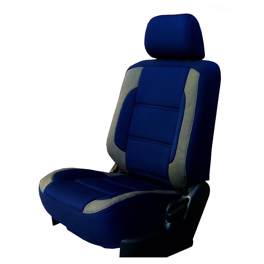 【葵花】量身訂做-汽車椅套-日式針織-賽車展翅配色-轎車款/休旅車5~8人座-雙前座-第一排2人座