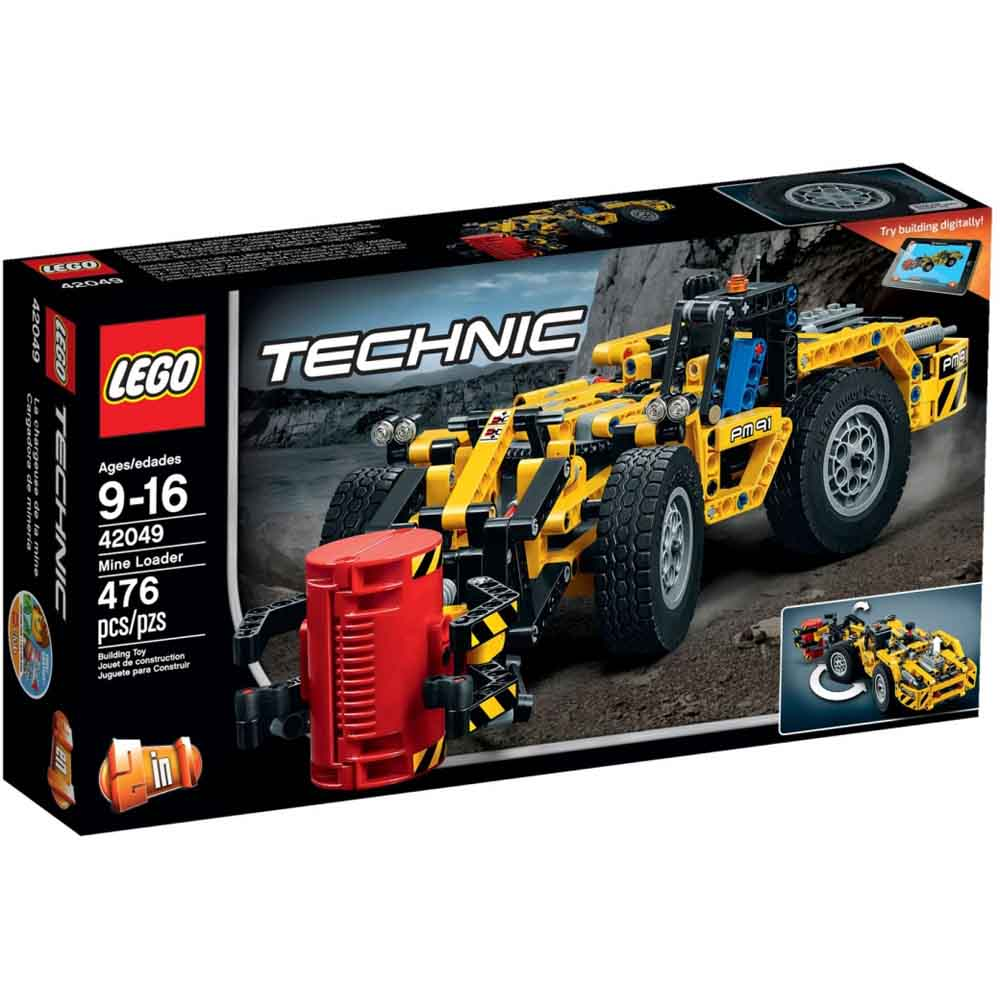 LEGO 樂高玩具 科技系列 礦山裝載機 42049