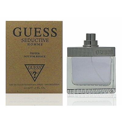 Guess Seductive 魅惑男性淡香水  50 ml Test 包裝