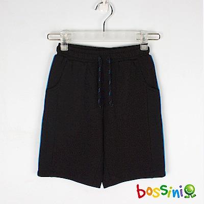bossini男童-速乾針織短褲黑