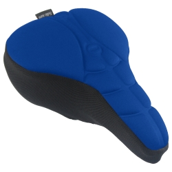 Dr. Air 新款 登山車用可調壓氣墊座墊套 - 寶藍