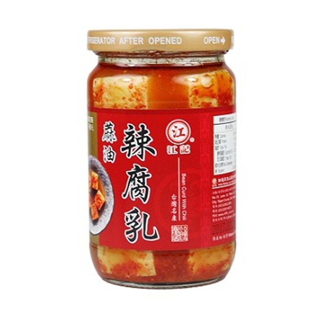 江記 麻油辣豆腐乳(320g)