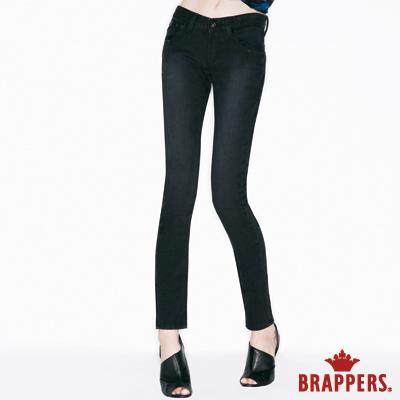 BRAPPERS 女款 女用彈性AB褲-黑