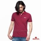 BRAPPERS 男款 舒適純棉短袖POLOT衫-紅