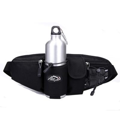 6602 BK黑色 戶外多功能水壺腰包/斜背包
