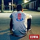 EDWIN 東京系列TOKYO MAP反光短袖T恤-男-灰色