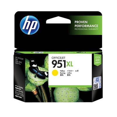 HP CN048AA NO.951XL 黃色墨水匣