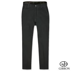 GIBBON 彈力防寒刷毛平口長褲‧黑色30-42