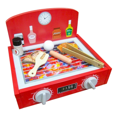 樂兒學嚴選 BBQ趣味木製玩具烤肉檯