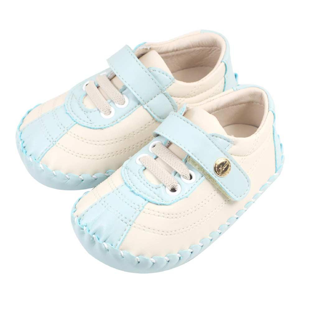 Swan天鵝童鞋-幾何線條寶寶鞋 1485-綠
