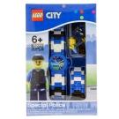 【 樂高積木 LEGO 】兒童手錶 - 城市警察