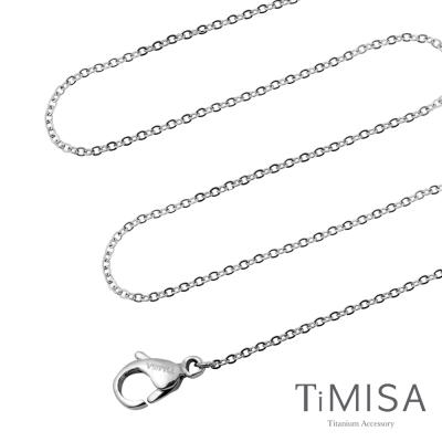 TiMISA 唯美 純鈦(極細鎖骨)項鍊