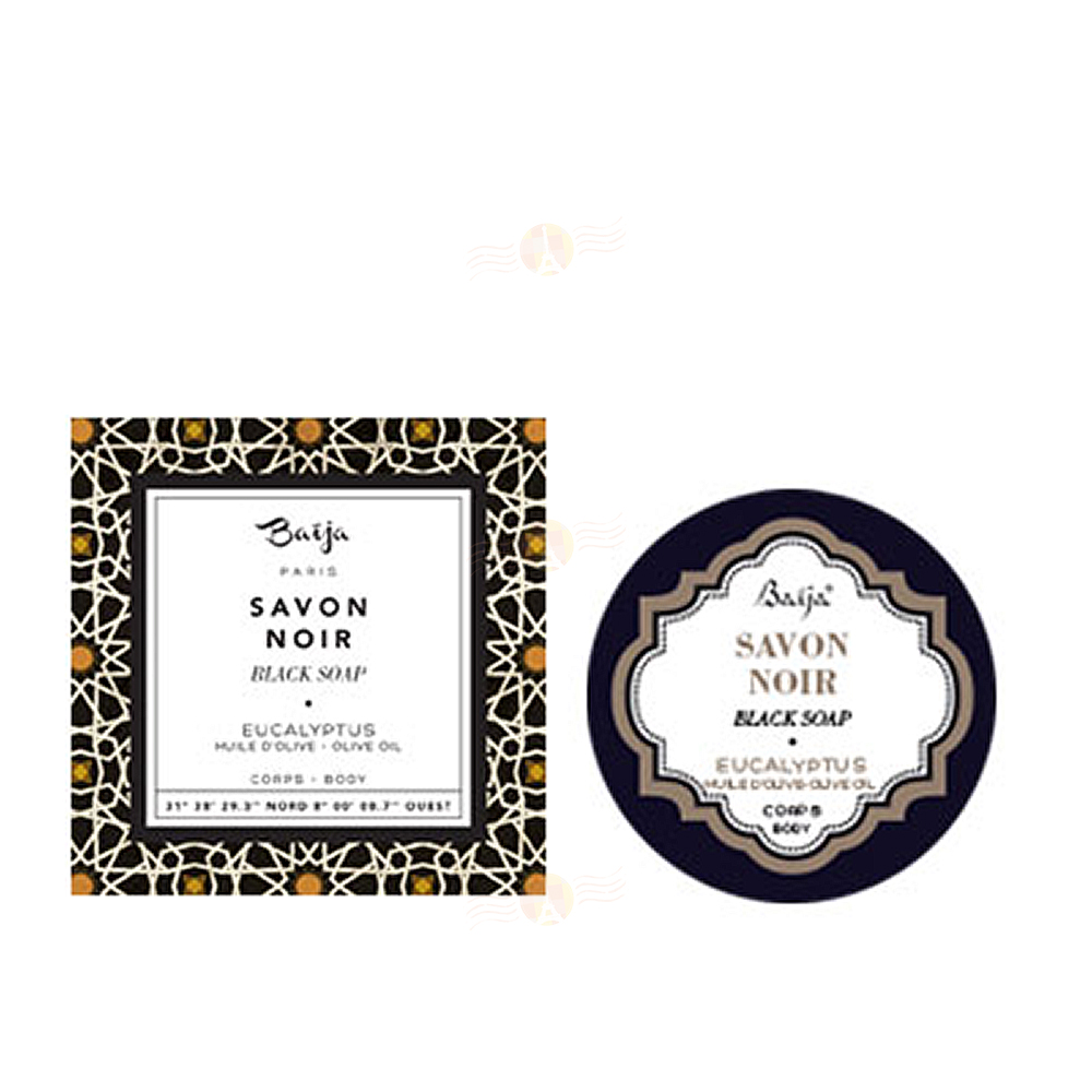 Baija巴黎百嘉 琥珀秘香淨化黑肥皂 50ml