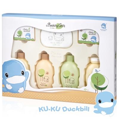 KU.KU酷咕鴨-酪梨油-燕麥蛋白萃取沐浴禮盒(1116)