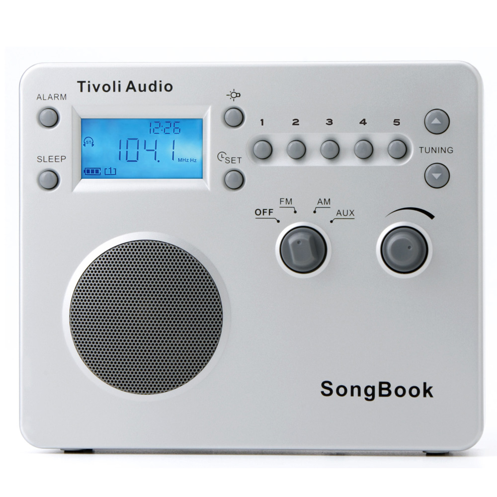 Tivoli Audio SongBook隨身FM/AM收音機