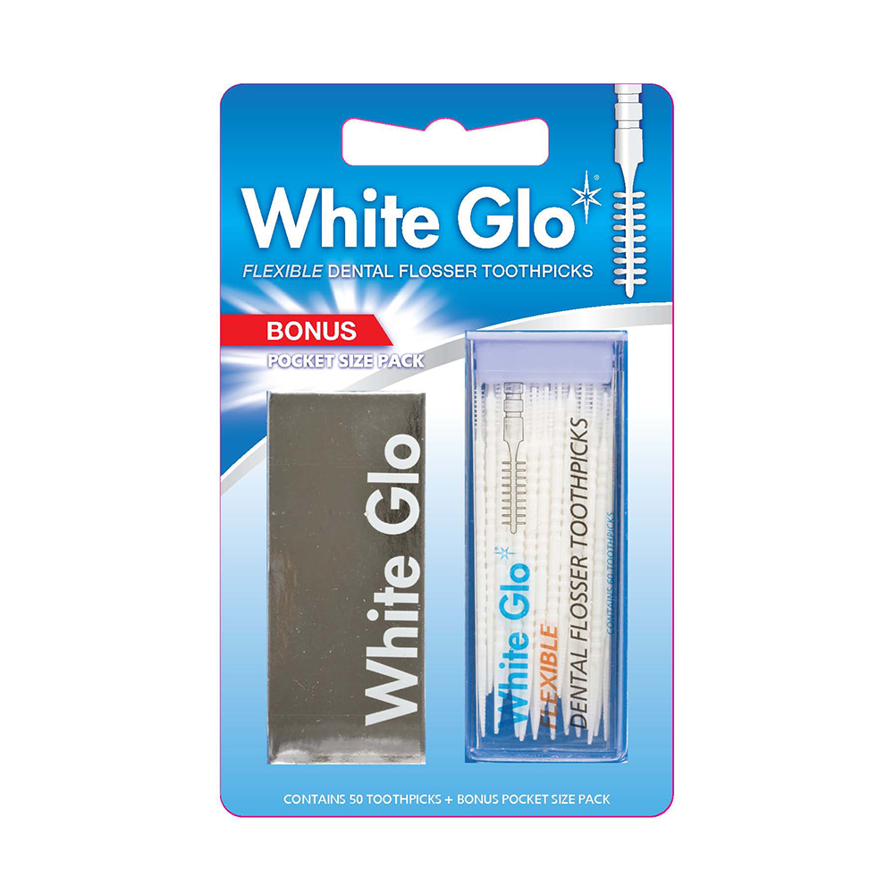 澳洲White Glo 牙縫刷(50入)