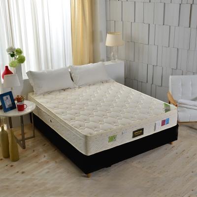 Ally愛麗 雙人加大6尺 天皇三線天絲棉乳膠護邊獨立筒床墊 麵包床