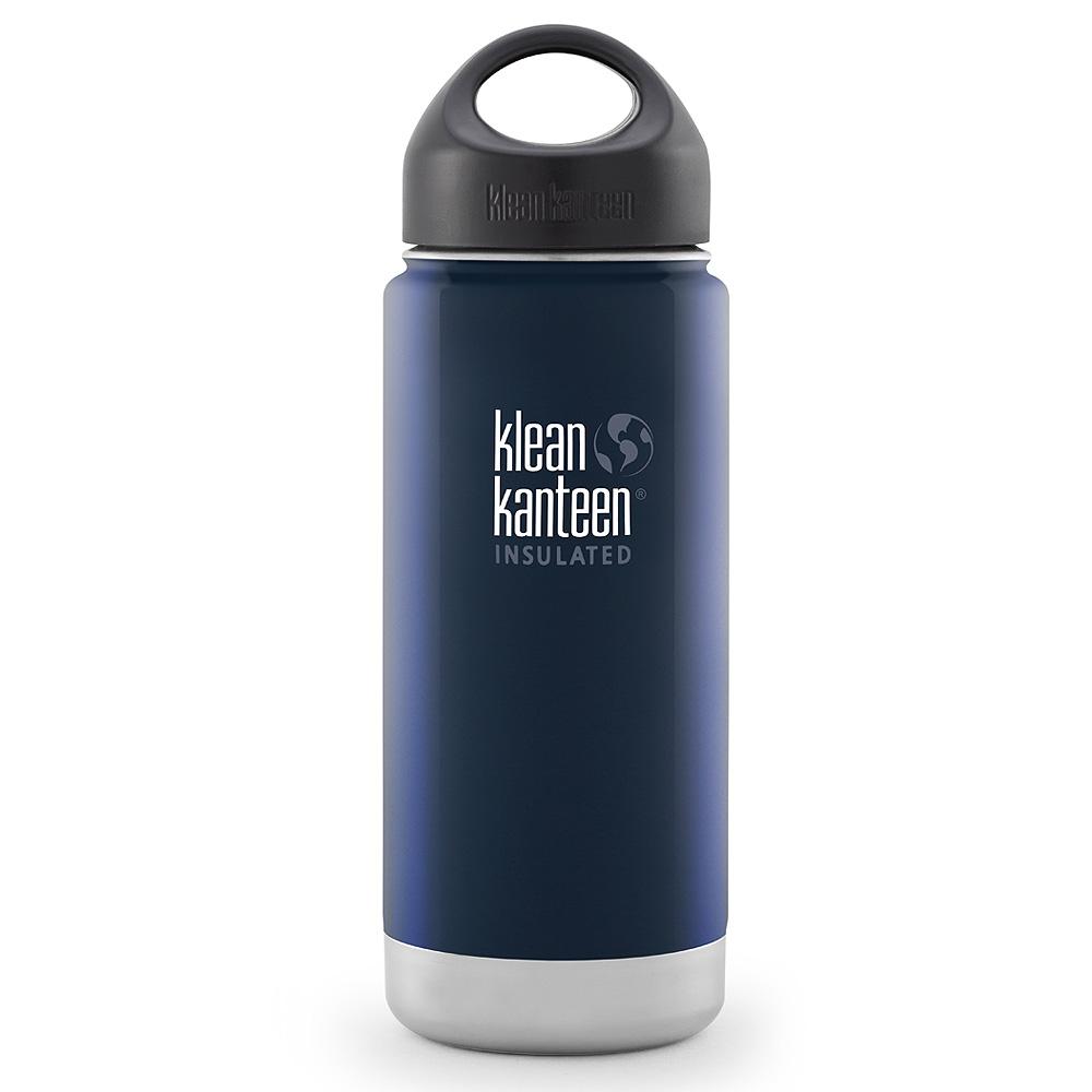 美國Klean Kanteen寬口保溫鋼瓶473ml-深海藍