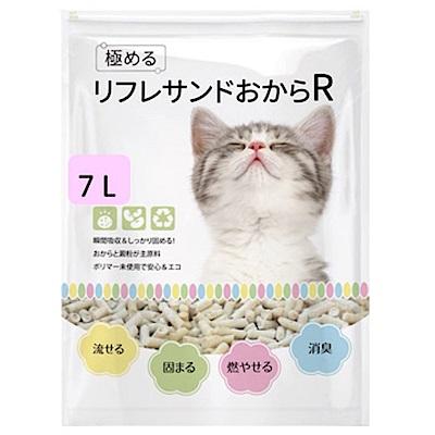 YOYO天然環保豆腐貓砂 7L 三包組