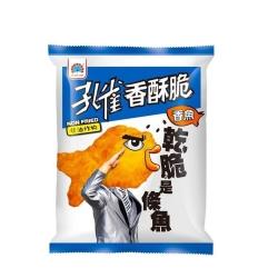 孔雀 香酥脆-香魚(52gx12入)