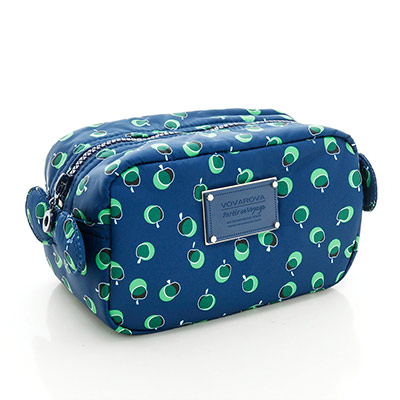 VOVAROVA空氣包-裝不滿化妝包-我的小蘋果(青森綠)-法國設計系列