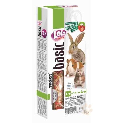 LoLo 鼠兔棒棒糖(草莓)90g 2入