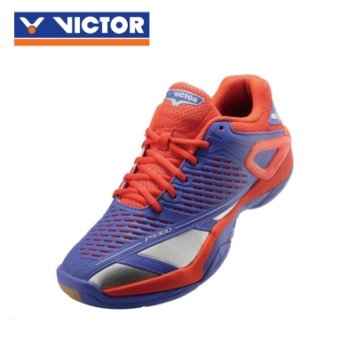 【VICTOR】勝利羽球鞋 SH-P9300 FO 耀眼藍/紅橘汁