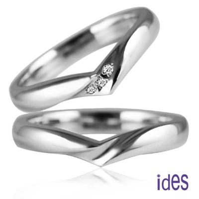 ides愛蒂思 甜蜜承諾系列 情人對戒/結婚對戒