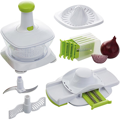KitchenCraft 5in1多功能食物調理組