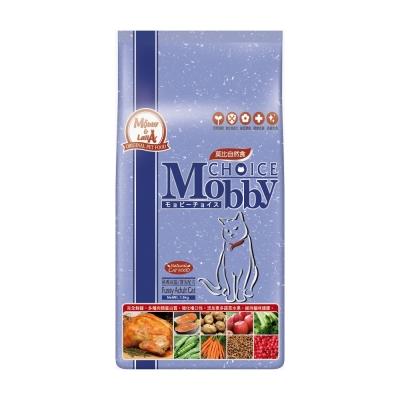 莫比Mobby 挑嘴貓 專用配方 自然食飼料 7.5公斤