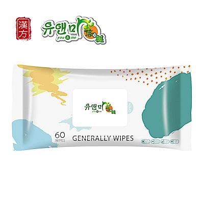 悠安美 加厚型潔膚柔濕巾 60片x24包/箱