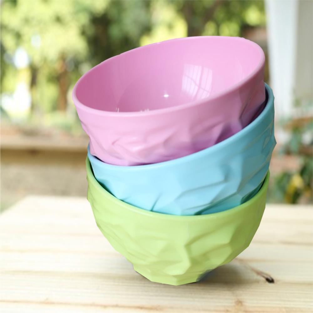 Cornflower玉米花美學時尚玉米餐具-皺褶碗(大)3入