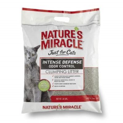 自然奇蹟 8in1 天然酵素除臭凝結貓砂 20磅