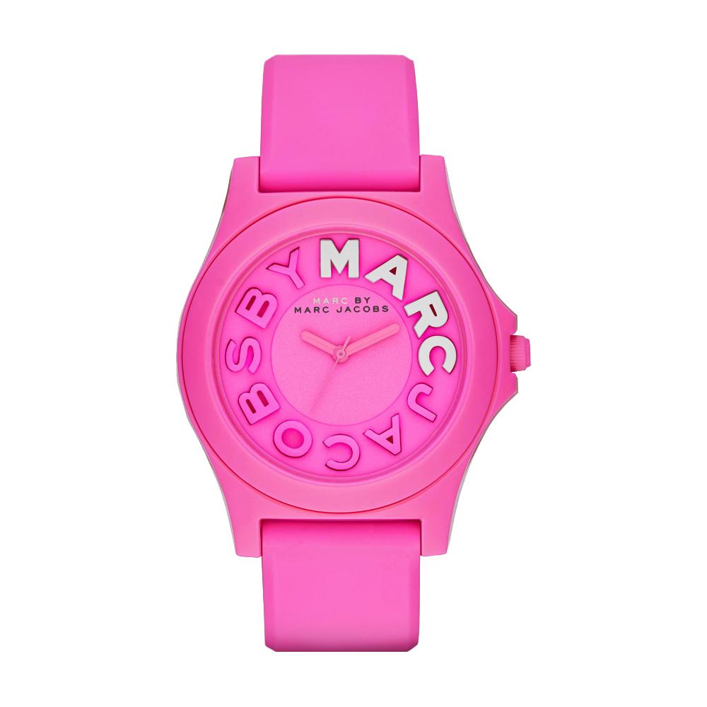 Marc by Marc Jacobs Sloane 活力經典品牌腕錶-粉/40mm