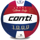 CONTI 3000系列 5號頂級超細纖維貼布排球 V3000-5-RWB