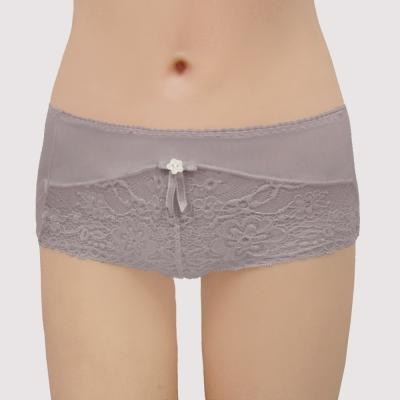 曼黛瑪璉 包覆提托Hibra大波  低腰平口萊克內褲(華貴紫)